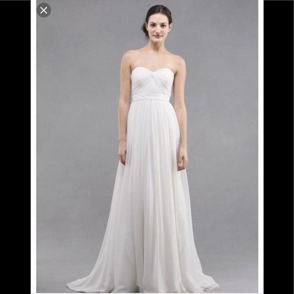 "670110b132a Jenny Yoo wedding dress ""The Monarch"" ivory"